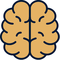 icon of a brain